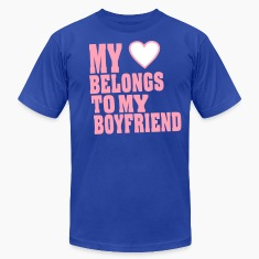 MY HEART BELONGS TO MY BOYFRIEND T-Shirts