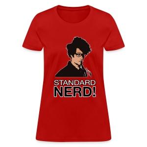 MOSS - STANDARD NERD! - Women's T-Shirt