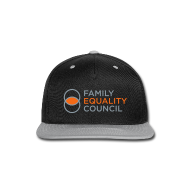 Sportswear ~ Snap-back Baseball Cap ~ Family Equality Council Official Snapback