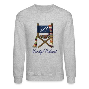 Verity! Podcast Men's Crewneck Sweatshirt - Crewneck Sweatshirt