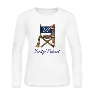 Verity! Podcast Women's Long Sleeve Jersey T-Shirt - Women's Long Sleeve Jersey T-Shirt