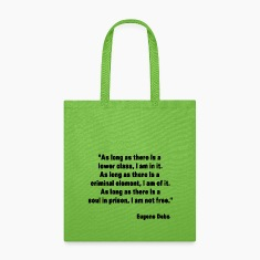 Eugene Debs Quote Bags & backpacks