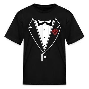 Kids Customizable Tuxedo - Kids' T-Shirt