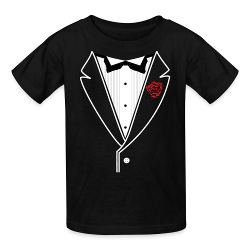 Kids Customizable Tuxedo - Kids' T-Shirt