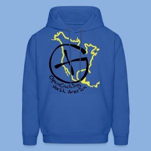 OCNA Logo Dark Blue Hoodie - Men's Hoodie