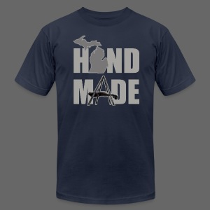 Hand Made - Men's T-Shirt by American Apparel