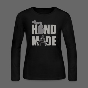 Hand Made - Women's Long Sleeve Jersey T-Shirt
