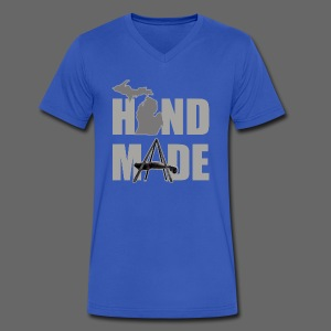 Hand Made - Men's V-Neck T-Shirt by Canvas