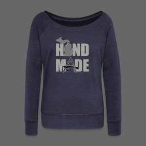 Hand Made - Women's Wideneck Sweatshirt