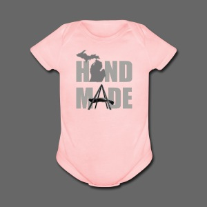 Hand Made - Short Sleeve Baby Bodysuit