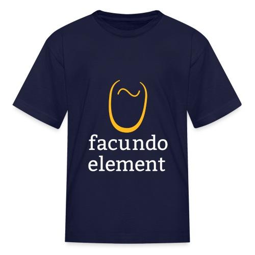 Kid's Facundo Element T Shirt - Kids' T-Shirt