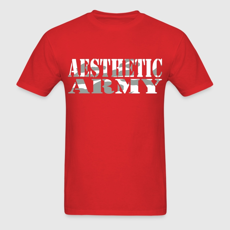 Aesthetic Army T-Shirts - Men's T-Shirt