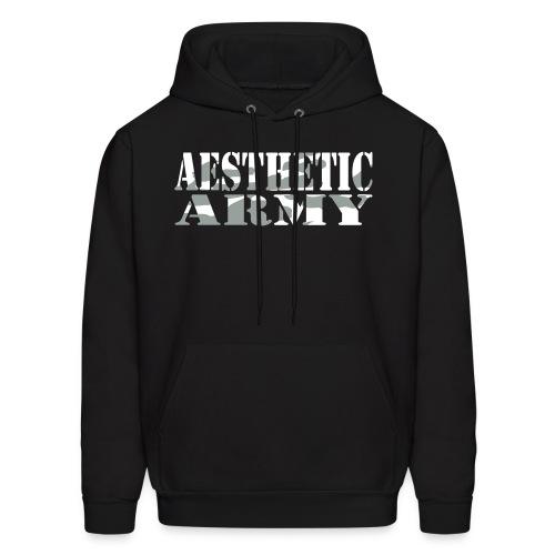 Aesthetic Army Camo Mens Sweatshirt - Men's Hoodie