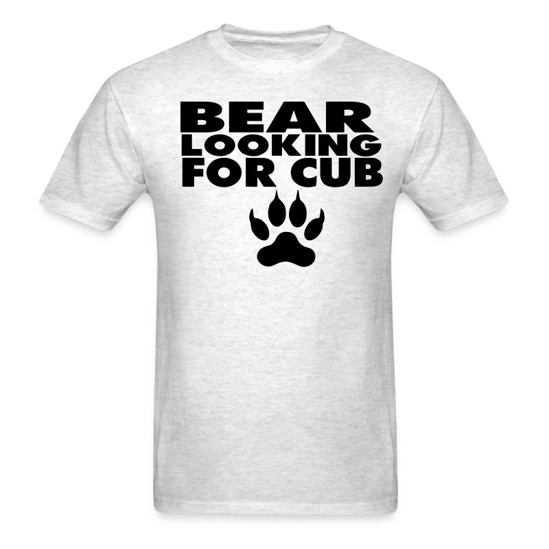 Bear looking for a cub t shirt spreadshirt for Bear river workwear shirts