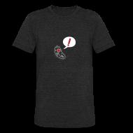 T-Shirts ~ Unisex Tri-Blend T-Shirt ~ Nothing in Biology microbe, black