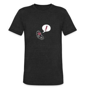 Nothing in Biology microbe, black - Unisex Tri-Blend T-Shirt