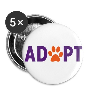 adopt animal pins  - Large Buttons