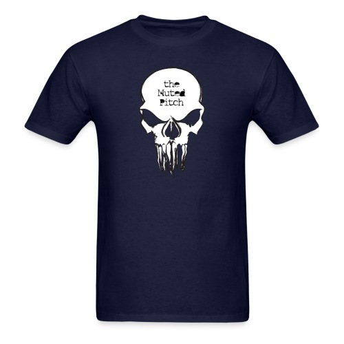 tMP Sketched Skull - Men's T-Shirt