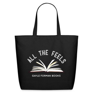 Feels On The Page Tote Large - Eco-Friendly Cotton Tote