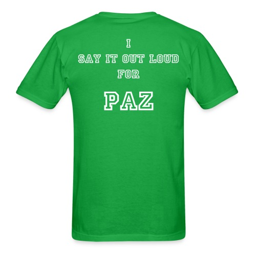TEAM STILL PROJECT MEN #1 - PAZ - Men's T-Shirt