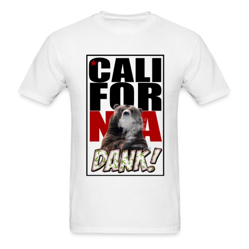 CALIFORNIA DANK - Men's T-Shirt