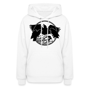 Raven Art Hoodie Shirt Women's Raven Spirit Animal Shirt - Women's Hoodie