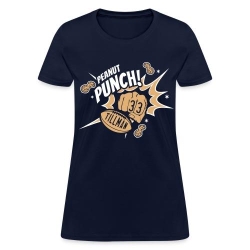 PEANUT PUNCH (Charles Tillman #33) - Women's T-Shirt