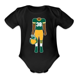 38 baby - Short Sleeve Baby Bodysuit