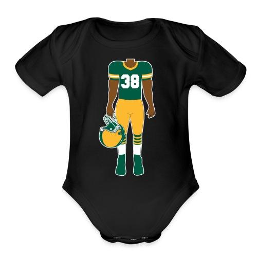 38 baby - Organic Short Sleeve Baby Bodysuit