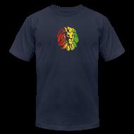 T-Shirts ~ Men's T-Shirt by American Apparel ~ Rasta Lion