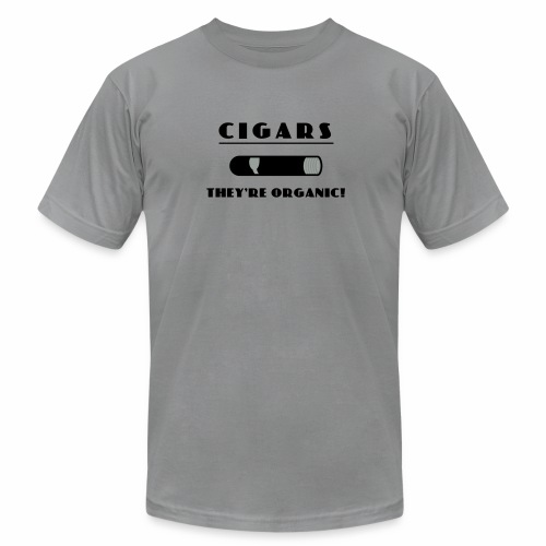 Cigars: They're Organic - Men's Fine Jersey T-Shirt