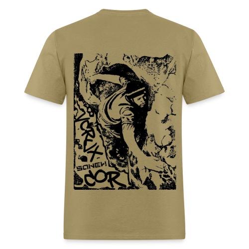 Southern NM City of Rocks (Back) - Men's T-Shirt