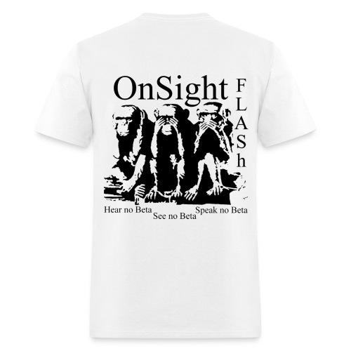 On Sight Flash (Front) - Men's T-Shirt