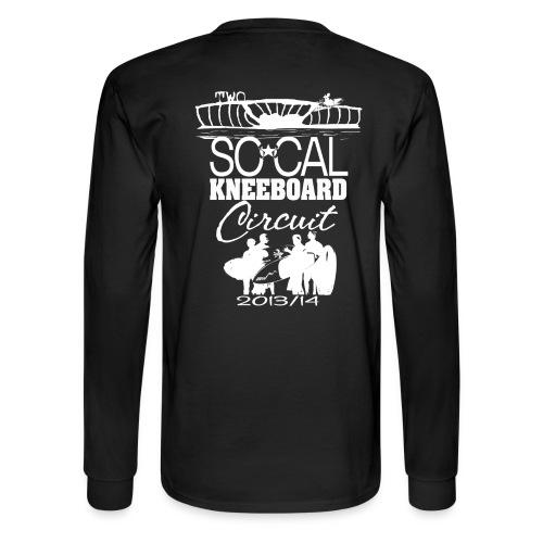 Season Two - L/S Black Tee - Men's Long Sleeve T-Shirt