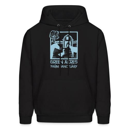 Men's Style Hoodie - Blue Logo - Men's Hoodie