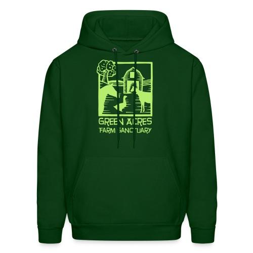 Men's Style Hoodie - Green Logo - Men's Hoodie