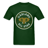 T-Shirts ~ Men's T-Shirt ~ Oakland All Star - Metallic Gold - Men's Tee