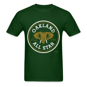 Oakland All Star - Metallic Gold - Men's Tee - Men's T-Shirt
