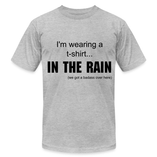 T-shirt in the RAIN - Men's Fine Jersey T-Shirt