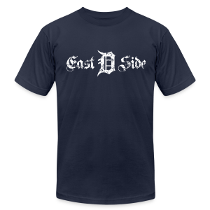 Eastside Detroit - Men's T-Shirt by American Apparel