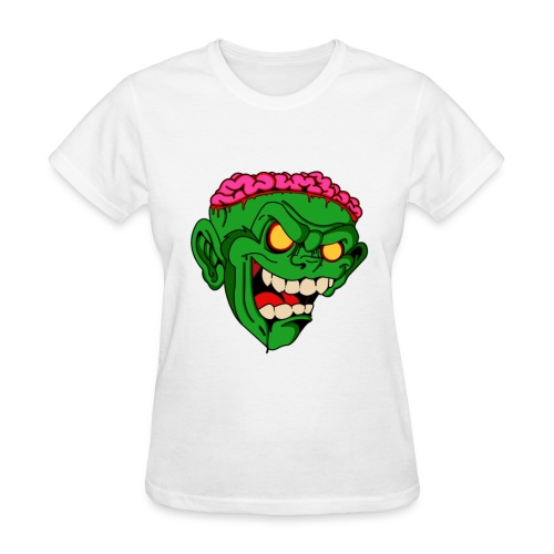 Women's Monkey Brains - Women's T-Shirt