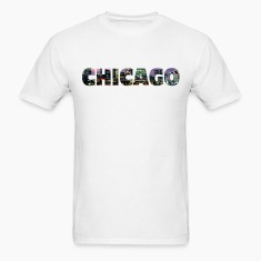 Chicago Skyline Text