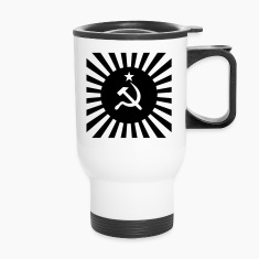 hammer and sickle Bottles & Mugs