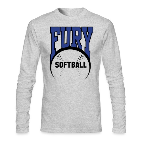 Fury Longsleeve Tee - Men's Long Sleeve T-Shirt by Next Level
