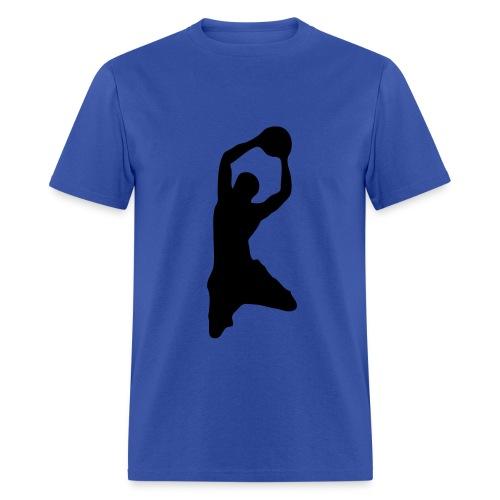 Two Handed Dunking Shirt  - Men's T-Shirt