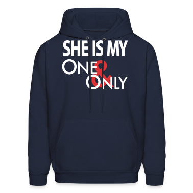 She's My One Only Hoodies