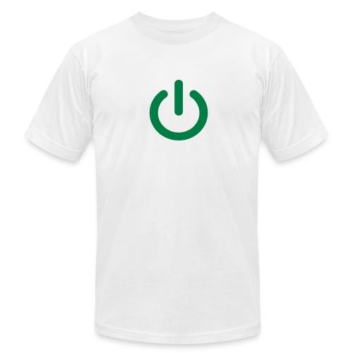 Power on. - Men's Fine Jersey T-Shirt