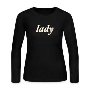 Lady Women's Long Sleeve T-Shirt - Women's Long Sleeve Jersey T-Shirt