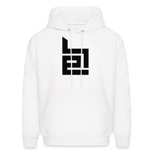 Black Logo Hoodie - Men's Hoodie