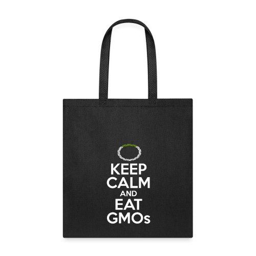 Tote Bag - Tired of watching people trying to ban technologies they don't even understand? Relax, the scientific consensus says that transgenic crops are as safe as conventional crops. Show your support for evidence-based public policy.